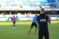 San Jose, CA - Wednesday June 28, 2017: Alex Covelo prior to a U.S. Open Cup Round of 16 match between the San Jose Earthquakes and the Seattle Sounders FC at Avaya Stadium.