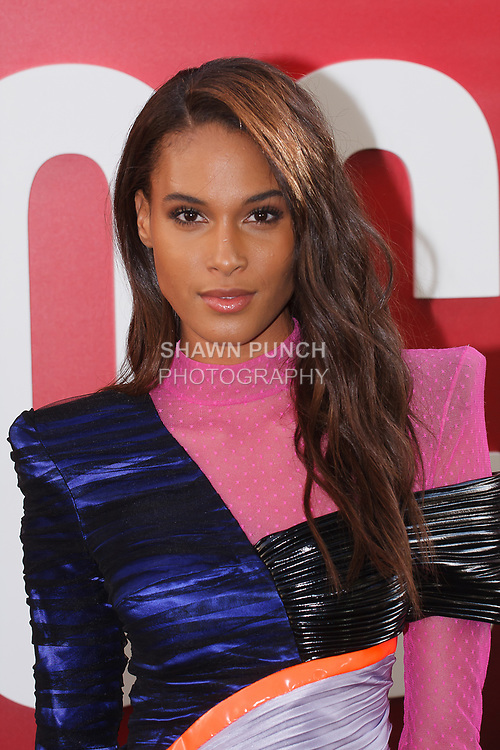 Cindy Bruna arrives at the World Premiere of Ocean's 8 at Alice Tully Hall in New York City, on June 5, 2018.