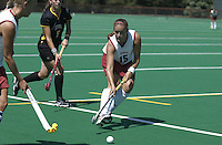 2 September 2004: Bailey Richardson during Stanford's 3-1 loss to Iowa at the varsity field hockey turf in Stanford, CA.