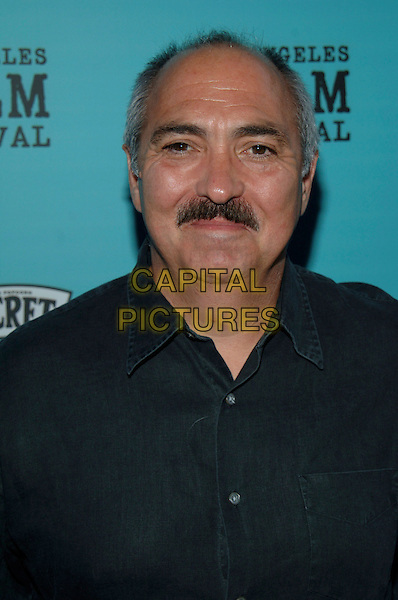 """MIGUEL SANDOVAL.""""Nine Lives"""" Centerpiece Premiere from the 2005 Los Angeles Film Festival held at ACMPAS Theatre, Beverly Hills, California, USA, 21 June 2005..portrait headshot moustache.Ref: ADM.www.capitalpictures.com.sales@capitalpictures.com.©Jacqui Wong/AdMedia/Capital Pictures."""