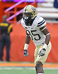PITTSBURGH, PA, OCT 7: The Pitt football team travels to take on Syracuse at the Carrier Dome in Syracuse, New York on October 7, 2017. <br /> Photographer: Pete Madia/Pitt Athletics