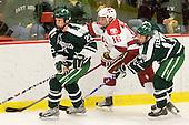 Adam Estoclet (Dartmouth - 23), Alex Fallstrom (Harvard - 16), Scott Fleming (Dartmouth - 17) - The Harvard University Crimson defeated the Dartmouth College Big Green 4-1 (EN) on Monday, January 18, 2010, at Bright Hockey Center in Cambridge, Massachusetts.
