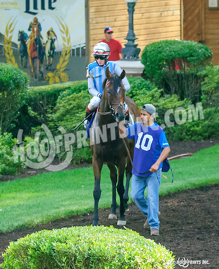 Conscreption before The Christiana Stakes at Delaware Park on 7/6/16