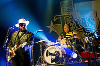 The Mavericks perform at Billy Bob's Texas, led by front man Raul Malo with Paul Deakin on drums, Friday October 7th, 2016. (Special to the Star-Telegram/Rachel Parker)