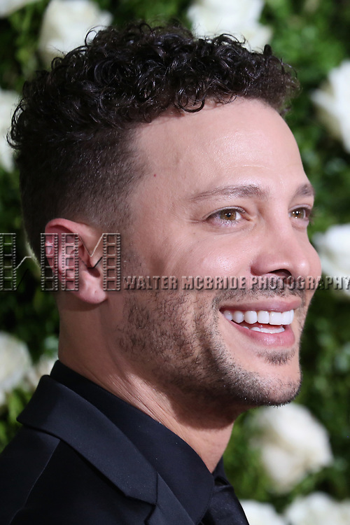 NEW YORK, NY - JUNE 11:  Justin Guarini attends the 71st Annual Tony Awards at Radio City Music Hall on June 11, 2017 in New York City.  (Photo by Walter McBride/WireImage)