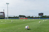 Philadelphia, PA - May 26, 2018: The USMNT trains at Rhodes Soccer Stadium before an international friendly against Bolivia.