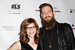 Musician Lisa Loeb and Roey Hershkovitz attend the Recording Academy Producers & Engineers Wing event honoring Alicia Keys and Swizz Beatz at 30 Rockefeller Plaza in New York City, during Grammy Week on January 25, 2018.