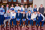 Abbeyfeale United Team that won the Munster League Champion Trophy .<br /> <br /> Seated: Manager Terence O&rsquo; Mahony, Thomas Sexton, Cormac Roche, Paudie Smith, Chris Smith, Maurice O&rsquo; Connor , Joe Kelliher.<br /> <br /> Back: Billy Quirke, Manager John Kelliher, Barry Sheehy, Denis Fitzgerald, Conor Horan, Pakie O&rsquo; Connor, Michael Keane, Mike Kelliher,<br /> Manager Thomas Cahill.