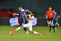 Washington D.C. - Friday, September 4, 2015: The USMNT tie Peru 1-1 early in the second half in an international friendly game at RFK stadium.