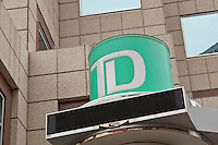 TD Canada Trust logo is seen in Winnipeg Monday May 23, 2011. TD Canada Trust is the personal, small business and commercial banking operation of the Toronto-Dominion Bank (TD) in Canada.