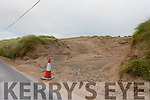 Sand dunes damaged in Castlegregory.