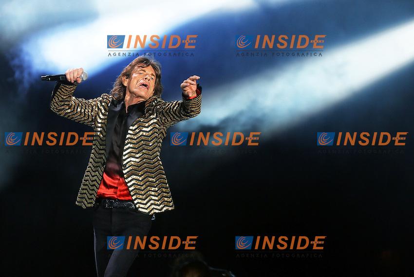 Mick Jagger<br /> Roma, Italy 22/06/2014 Circo Massimo <br /> Rolling Stones in concerto / concert<br /> Foto Mark Cape / Insidefoto
