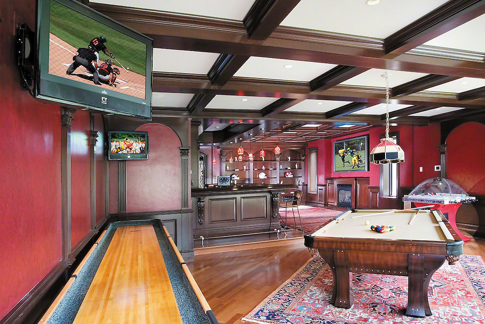 Entertainment Room Plasma Sports Room