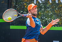 Rotterdam, Netherlands, August 22, 2017, Rotterdam Open, Boy Westerhof (NED)<br /> Photo: Tennisimages/Henk Koster