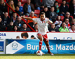 Dominic Calvert-Lewin of Sheffield Utd  in action during the Sky Bet League One match at Bramall Lane Stadium. Photo credit should read: Simon Bellis/Sportimage