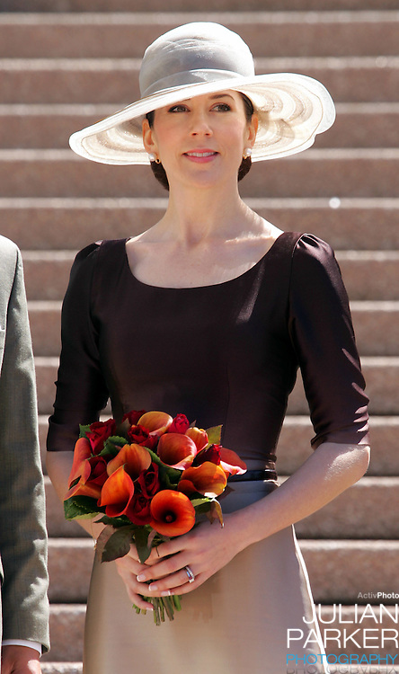 Crown Prince Frederik & Crown Princess Mary of Denmark attend a Hans Christian Andersen Anniversary event & the announcement of the Hans Christian Andersen Ambassadors at the Sydney Opera House, during their 2-week visit to Australia..