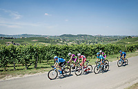 the breakaway group<br /> <br /> 'La Primavera' (Spring) in summer!<br /> 111st Milano-Sanremo 2020 (1.UWT)<br /> 1 day race from Milano to Sanremo (305km)<br /> <br /> the postponed edition > exceptionally held in summer because of the Covid-19 pandemic calendar reshuffle