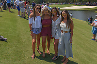Avid golf fans gather near 3 during round 1 of The Players Championship, TPC Sawgrass, at Ponte Vedra, Florida, USA. 5/10/2018.<br /> Picture: Golffile | Ken Murray<br /> <br /> <br /> All photo usage must carry mandatory copyright credit (&copy; Golffile | Ken Murray)