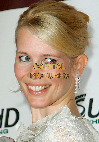 CLAUDIA SCHIFFER.The 2006 Women's World Awards - Press Room held at the Hammerstein Ballroom, New York City, New York, USA, 14th October 2006..portrait headshot.Ref: ADM/JL.www.capitalpictures.com.sales@capitalpictures.com.©Jackson Lee/AdMedia/Capital Pictures.