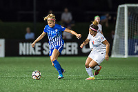 Boston, MA - Friday August 04, 2017:  during a regular season National Women's Soccer League (NWSL) match between the Boston Breakers and FC Kansas City at Jordan Field.