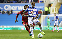 Renato Sanches of Swansea City marks Leandro Bacuna of Reading during the Carabao Cup Third Round match between Reading and Swansea City at Madejski Stadium, Reading, England, UK. Tuesday 19 September 2017