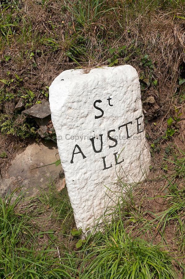 St Austell Milestone