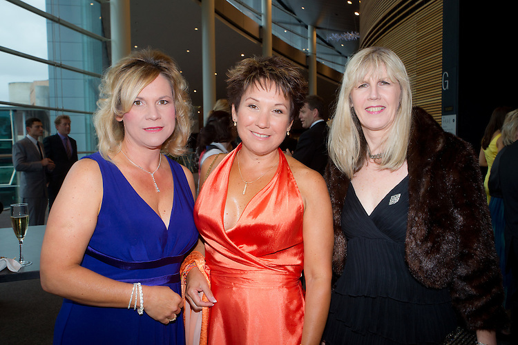 Robyn Delloro, Trudy Huczko, Faye Lorain, 2011 South Australian Premiers Food Awards. At the Convention Centre.