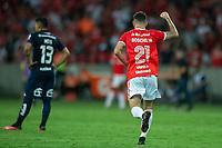 11th February 2020; Beira-Rio Stadium, Porto Alegre, Brazil; Libertadores Cup, Internacional versus Universidad de Chile; Gabriel Boschilia of Internacional celebrates his goal in the 43th minute for 1-0