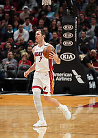 Goran Dragic (G Miami Heat, #7) - 22.01.2020: Miami Heat vs. Washington Wizards, American Airlines Arena
