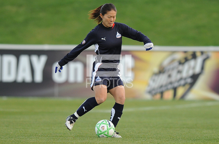 Washington Freedom midfielder Homare Sawa (10)  Washington Freedom tied  Chicago Red Stars 1-1  at The Maryland SoccerPlex, Saturday April 11, 2009.