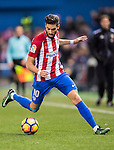 Yannick Ferreira Carrasco of Atletico de Madrid in action during their La Liga 2016-17 match between Atletico de Madrid vs Real Betis Balompie at the Vicente Calderon Stadium on 14 January 2017 in Madrid, Spain. Photo by Diego Gonzalez Souto / Power Sport Images