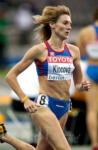 17 AUG 2009 - BERLIN, GER - Lucia Klocova (RUS) - Womens 800m Semi Finals - World Athletics Championships .(PHOTO (C) NIGEL FARROW)