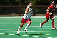 27 August 2005: Liz Robinson during Stanford's 2-1 overtime loss to Miami (Ohio) at the Varsity Turf Field in Stanford, CA.