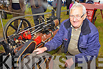 Ballyheigue man John Reegan with his display at the Knockanure Vintage Rally held last Sunday