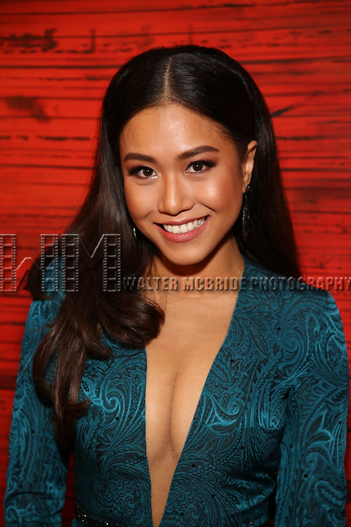 """Rachelle Ann Go attends The Opening Night After Party for the New Broadway Production of """"Miss Saigon"""" at Tavern on the Green on March 23, 2017 in New York City"""