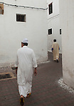 The pedestrian only streets of the Habbous neighborhood of Casablanca wind and snake through leaning white walls.<br /> <br /> Ben Sklar for the New York Times