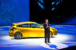 Alan Mulally with the 2012 Ford Focus ST