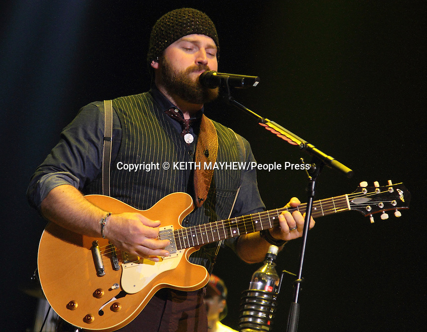Zac Brown Band perform live at C2C - Country to Country Festival at the O2 Arena, London on March 15th 2014<br /> <br /> Photo by Keith Mayhew