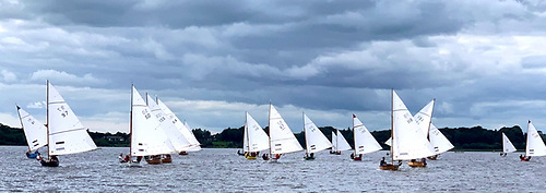 The SODs at Lough Ree experimented with windward-leeward courses