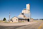 Concrete and corrugated grain elevator and feed store