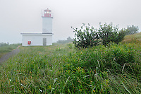 Quaco Head Lighthouse<br /> St. Martin's<br /> New Brunswick<br /> Canada