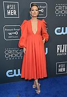 12 January 2020 - Santa Monica, California - Olivia Wilde. 25th Annual Critic's Choice Awards held at Barker Hangar. <br /> CAP/MPI/ADM/BT<br /> ©BT/ADM/MPI/Capital Pictures