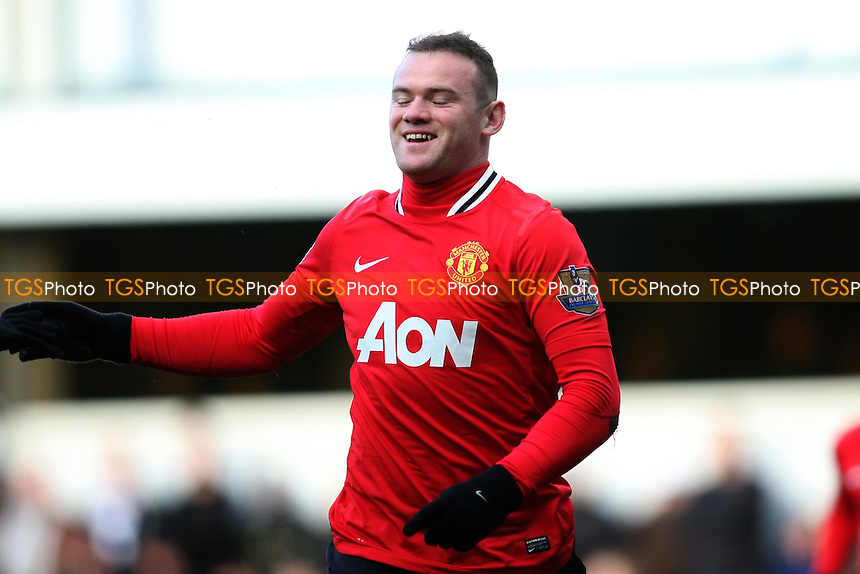 Wayne Rooney (Manchester United)  scores and celebrates - QPR vs Manchester United - Barclays Premier League Football at Loftus Road, London - 18/12/11 - MANDATORY CREDIT: George Phillipou/TGSPHOTO - Self billing applies where appropriate - 0845 094 6026 - contact@tgsphoto.co.uk - NO UNPAID USE.