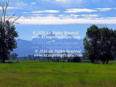 Idaho Teton Mountains Farm H