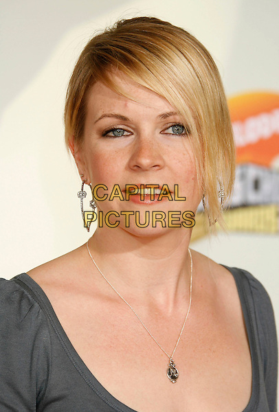 MELISSA JOAN HART.20th Annual Nickelodeon Kids' Choice Awards held at UCLA's Pauley Pavilion, Westwood, California, USA,.31 March 2007..portrait headshot M initial necklace .CAP/ADM/RE.©Russ Elliot/AdMedia/Capital Pictures.