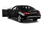 Car images close up view of a 2018 Mercedes Benz CLA Coupe Business Solution 4 Door Sedan doors