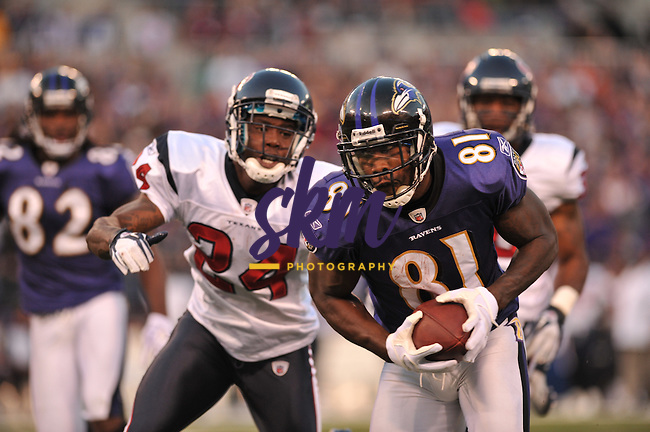 The Baltimore Ravens take on the Houston Texans following their bye week. After struggling in the red-zone all night the Ravens finally broke through late in the 4th quarter to win 29 - 14.