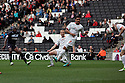 Lucas Akins of Stevenage scores the winning goal. MK Dons v Stevenage - npower League 1 - Stadium MK,  Milton Keynes - 20th October, 2012. © Kevin Coleman 2012