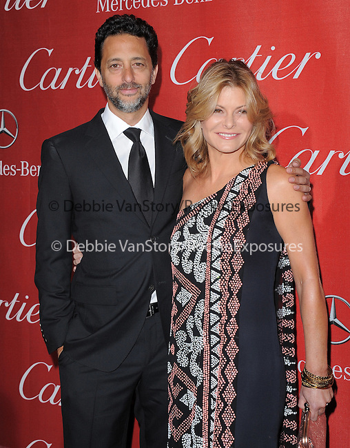 Grant Heslov (L) and Lisa Heslov attends the 2012 Palm Springs International Film Festival Awards Gala held at The Palm Springs Convention Center in Palm Springs, California on January 07,2012                                                                               © 2012 Hollywood Press Agency
