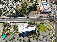 Museo de Arte de Sonora, MUSAS. Estacionamiento de MUSAS.  Paisaje urbano, paisaje de la ciudad de Hermosillo, Sonora, Mexico. Casa de la Cultura. <br /> Urban landscape, landscape of the city of Hermosillo, Sonora, Mexico.<br /> (Photo: Luis Gutierrez /NortePhoto)